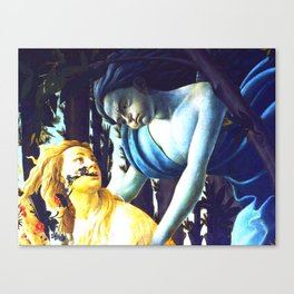 "Sandro Botticelli ""Spring"" Zephyr and Chloris Canvas Print"