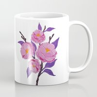 study Mugs featuring Flower study by Bexelbee