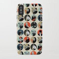Jazz  iPhone X Slim Case