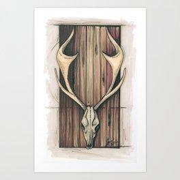 The Mute Art Print