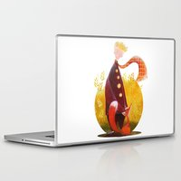 le petit prince Laptop & iPad Skins featuring Le Petit Prince by Federica Fabbian
