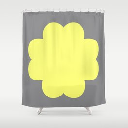 Bubbles Night Shower Curtain