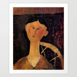 "Amedeo Modigliani ""Beatrice Hastings"" 1915 Art Print"