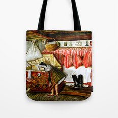 Searching After Memories Tote Bag