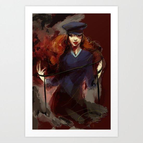 queen of hell Art Print