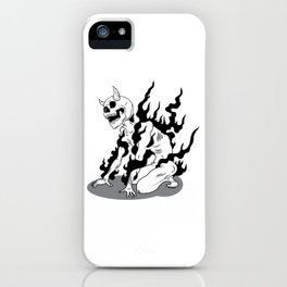 I am the God of Hellfire iPhone Case