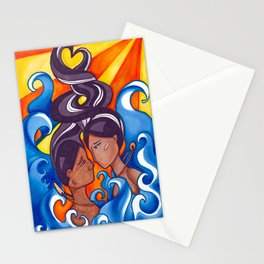 Two Lovers of Guam Stationery Cards