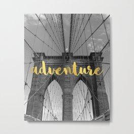 Brooklyn Adventures Metal Print