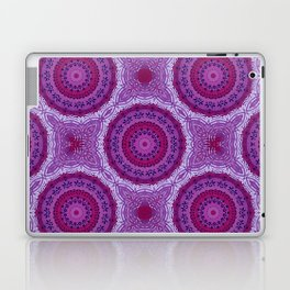 Circles in Purple Laptop & iPad Skin