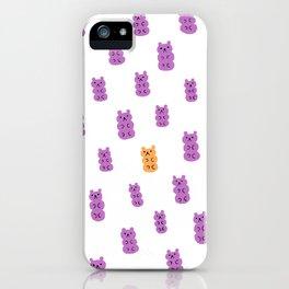 Gummy Bears Grape Flavor iPhone Case