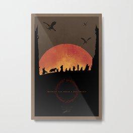 Nothing Can Break A Fellowship II Metal Print