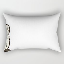 Australian Native Bird - Cockatoo Rectangular Pillow