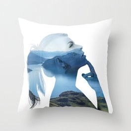 Serenity One Throw Pillow