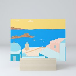 In Greece Mini Art Print