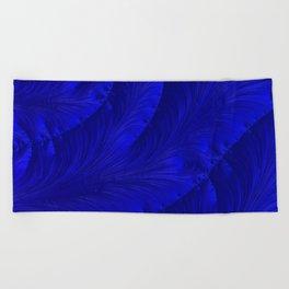 Renaissance Blue Beach Towel