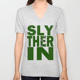 Slytherin House Pride Unisex V-Neck