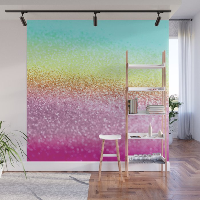 UNICORN GLITTER Wall Mural