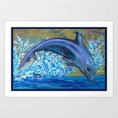 Dolphin 3 Art Print