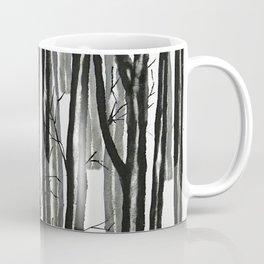 wood and snow Coffee Mug