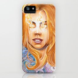 Bad Wolf iPhone Case