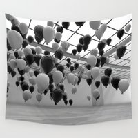 balloons Wall Tapestries featuring Balloons by Benjamin Ring