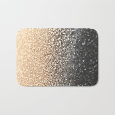 GOLD BLACK Bath Mat