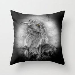 INTO DUST Throw Pillow