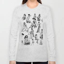 Pin Up Girls Long Sleeve T-shirt