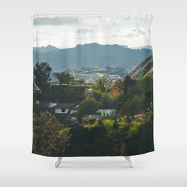 Hollywood Hills Shower Curtain
