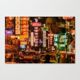 Bangkok - Chinatown Canvas Print