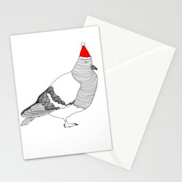 Christmas Pigeon Stationery Cards