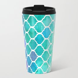 Emerald & Blue Marrakech Meander Travel Mug