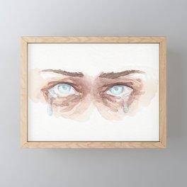 Fear Framed Mini Art Print