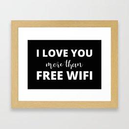 The True Love Framed Art Print
