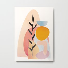 Abstract Shapes16 Metal Print