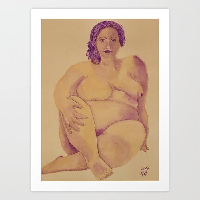 Beauté Française Art Print