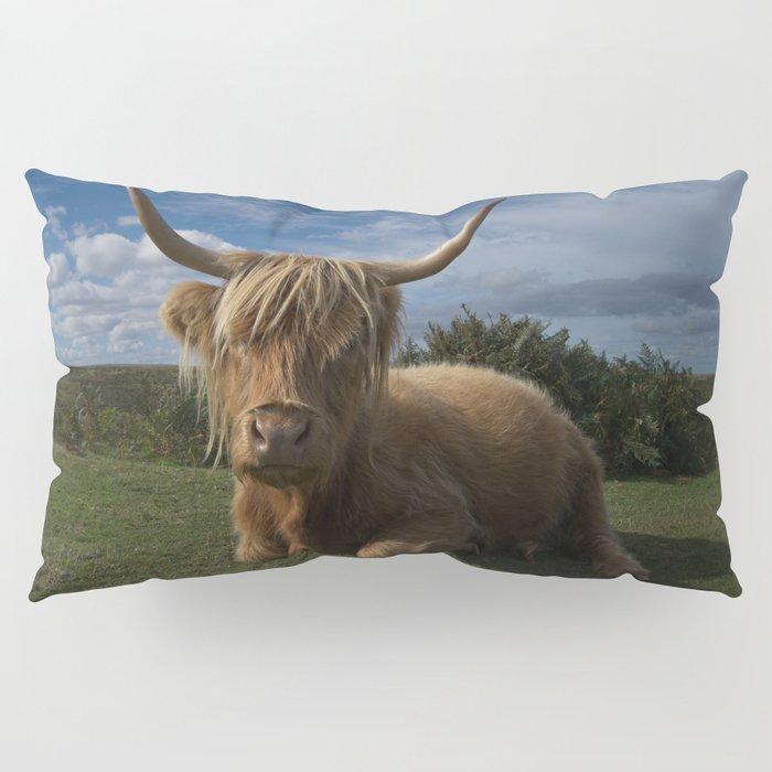 Rugged Highland Cow Pillow Sham