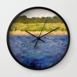 Coastal Dunes Wall Clock