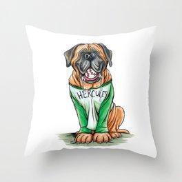 Hercules The Beast Throw Pillow