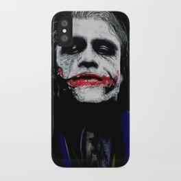 "The Joker ""Heath Ledger"" iPhone Case"