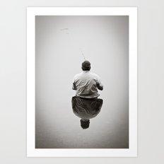 Mr. Fisherman  Art Print