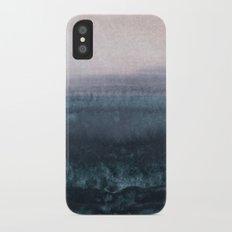 minimalist atmospheric landscape 1 iPhone X Slim Case
