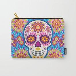 Sugar Skull Art (Inflorescent) Carry-All Pouch