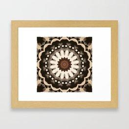 Ouija Wheel of Stars - Beyond the Veil Framed Art Print