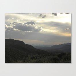 Colorado Sunset Canvas Print