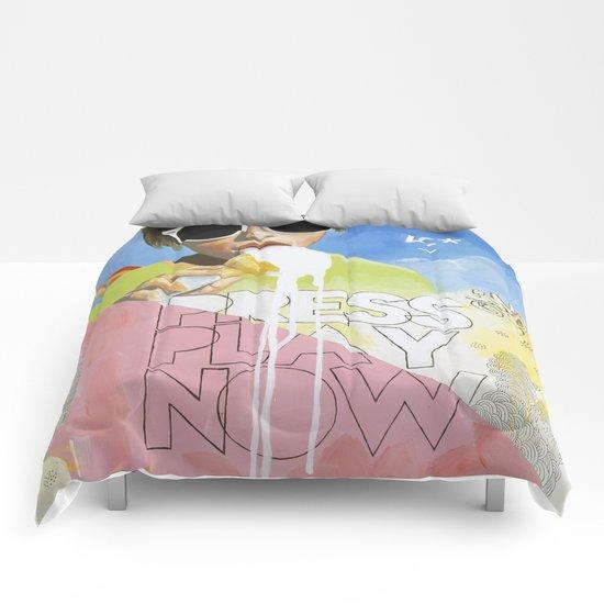 Press Play Now Comforters