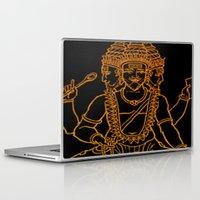 hindu Laptop & iPad Skins featuring Hindu by Littlefox