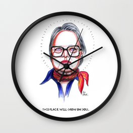Iris Wall Clock