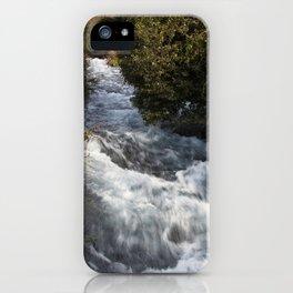 Dan River in Israel iPhone Case