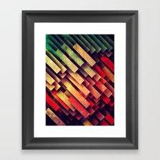 wype dwwn thys Framed Art Print